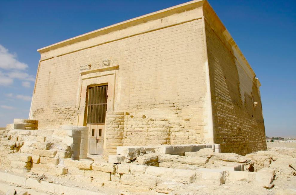 Древний город Египта Каср Карун