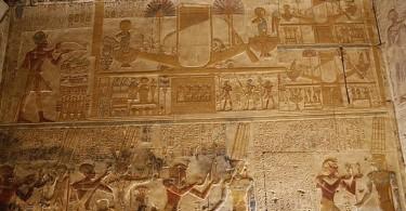 Египет фото. Храм Абидос фото