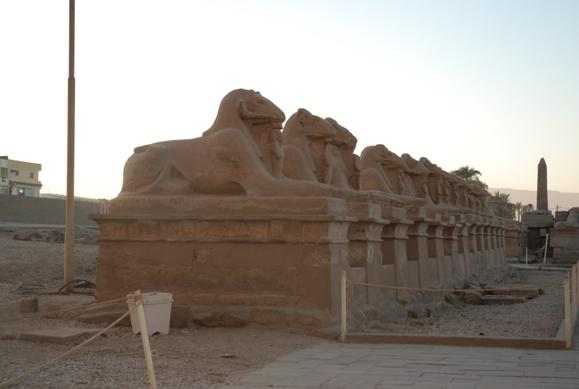 Аллея сфинксов. Карнакский храм, Луксор фото