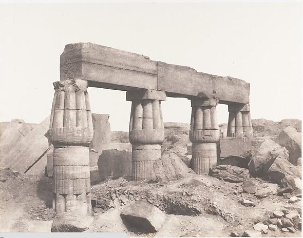 Фотография Тиб, Карнак, 1851