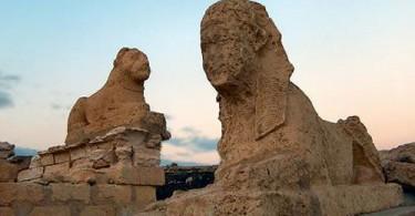 Древний город Димех эль-Сиба, Египет
