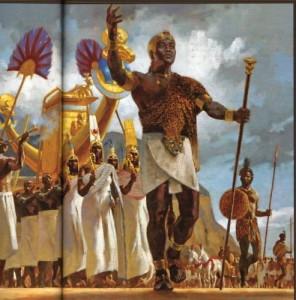Древняя Нубия и Египет фото