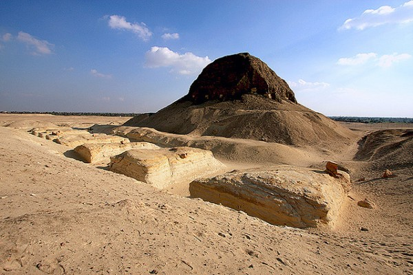 Пирамида Лаун, Древний Египет