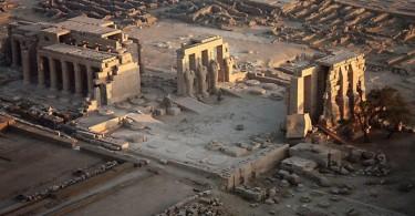 Храм Рамессеум, Египет
