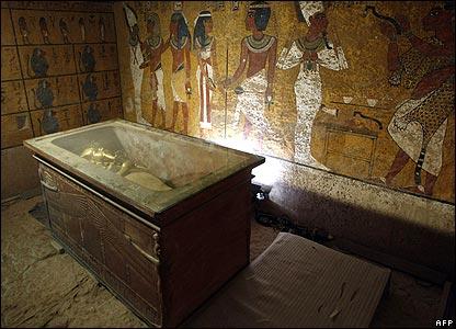древний египет фото гробница тутанхамона