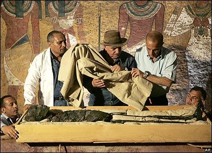 Гробница Тутанхамона, Египет