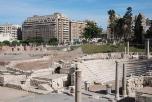 Римский амфитеатр Александрии (Египет)