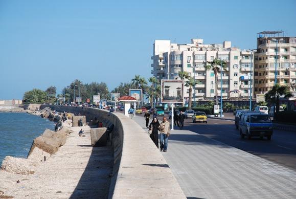 Набережная Александрии (Египет)