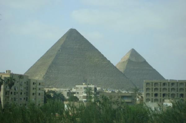 Египетские пирамиды Гизы