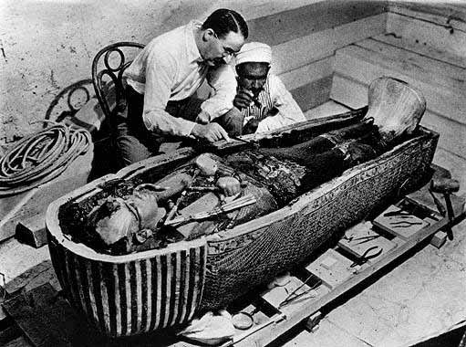 Саркофаг Тутанхамона, Египет