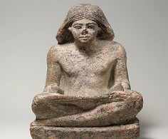 Статуя фараона Древнего Египта