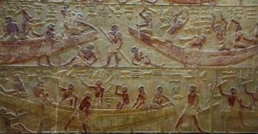 Барельеф Саккара, Египет