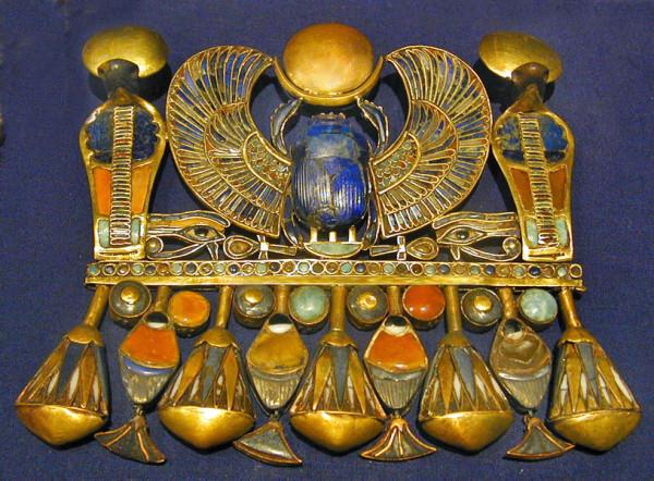 Украшения древнего Египта Тутанхамона фото