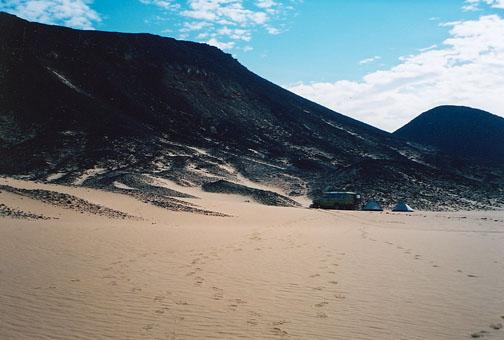 Черная пустыня Египта фото