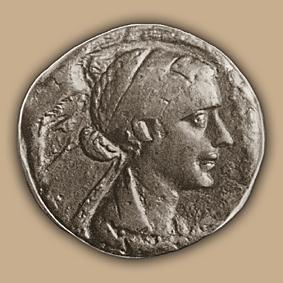 Монета Клеопатры