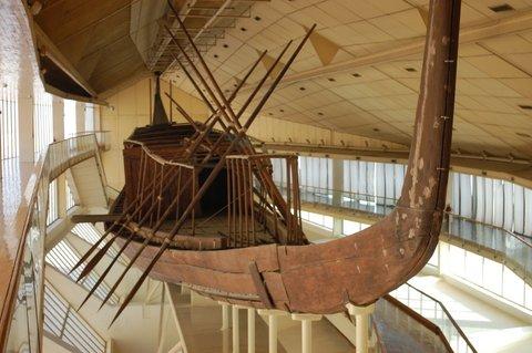 Лодка фараона Хеопса