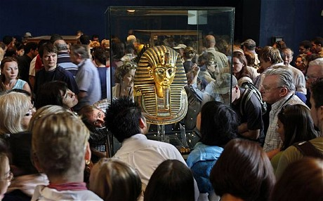 древний египет фото маска тутанхамона