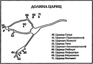 Долина Цариц схема