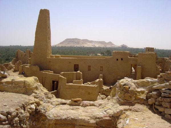 Храм Оракула оазис Сива, Египет фото