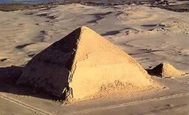 Пирамида Снефру Древнего Египта
