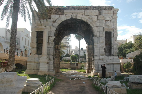 Арка Марка Аврелия в Триполи (Ливия)