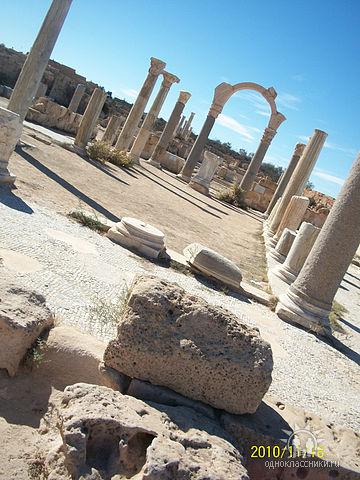 Город Сабрата, Ливия фото