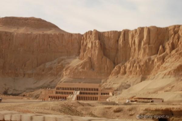 Храм Хатшепсут. Фото.