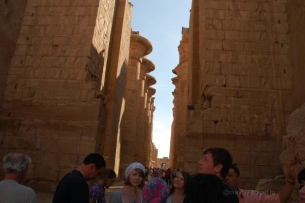 Карнакский храм, Луксор. Фото.