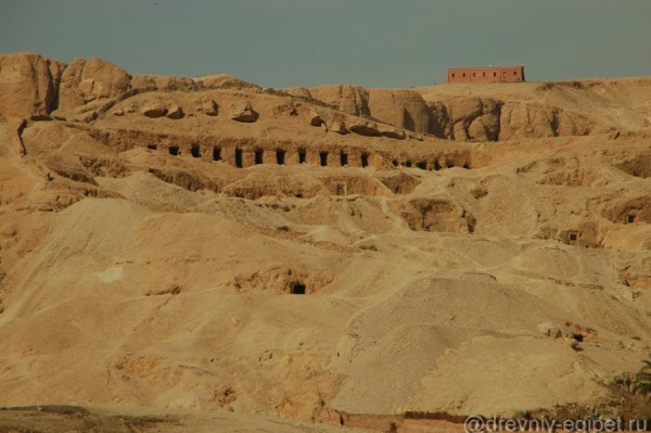 Долина Цариц, Луксор