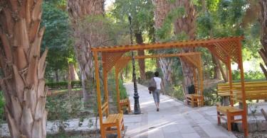 Ботанический сад, Асуан