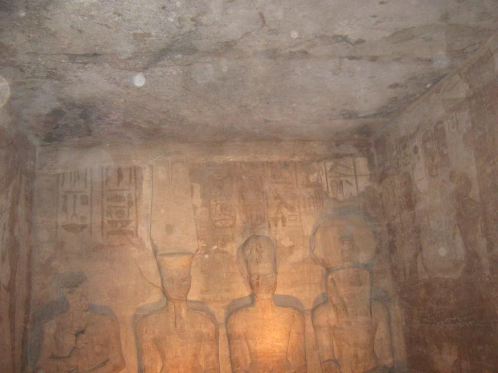 @Фестиваль Солнца, Абу-Симбел. Статуи Рамзеса II, Амона, Ра и Птаха