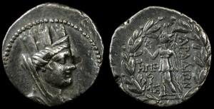 Монеты Древней Финикии
