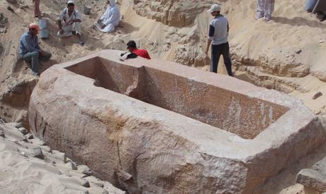 Мастаба Древнего Египта фото