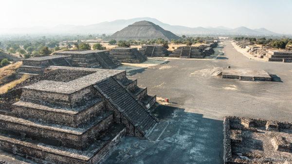 пирамиды солнца и луны в мексике