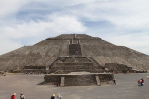 Пирамида Солнца народов Майя