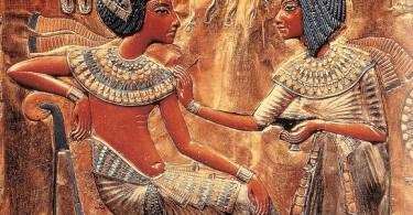Фараон Эхнатон Древнего Египта