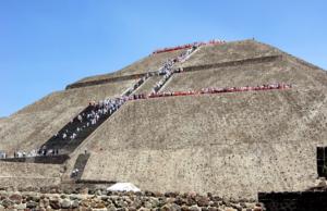 пирамида луны мексика