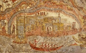 fresko santorini greece
