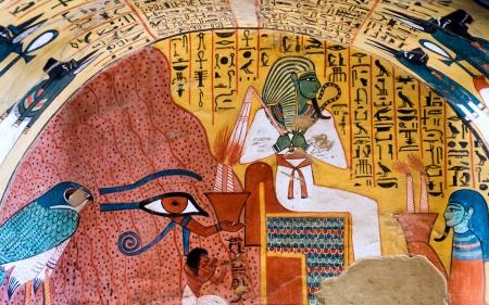 Гробница фараона Древнего Египта
