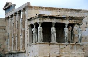 Эрехтейон, Древняя Греция