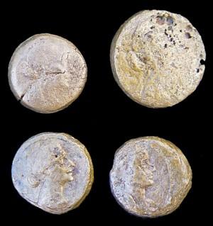 Монеты царицы Клеопатры
