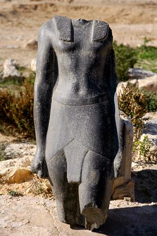 Статуя из гробницы Клеопатры