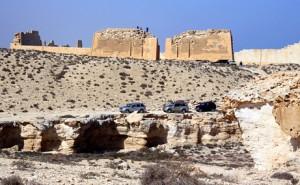 Гробница Клеопатры, руины храма Тапосирис Магна, Абусир