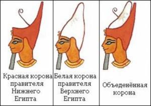 Короны фараонов Древнего Египта фото