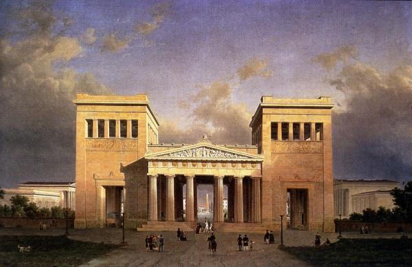 Пропилеи, Древняя Греция