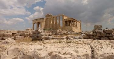 Старый храм Акрополиса, Афины
