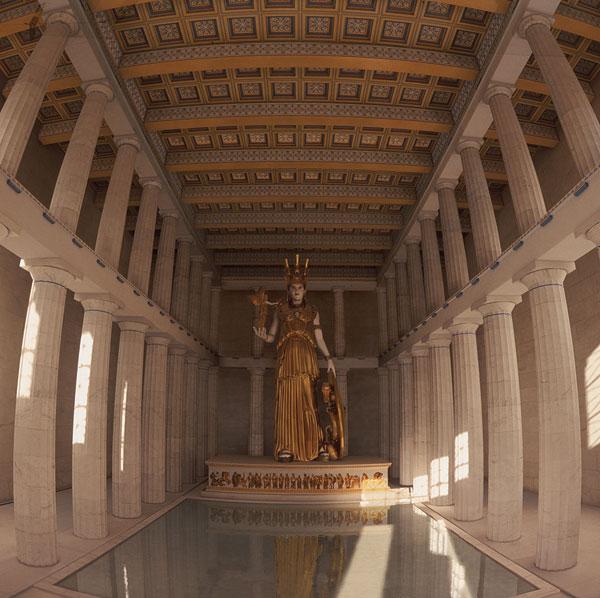 Пантенон Древняя Греция