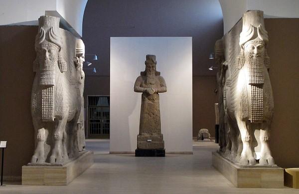 Ламассу, Ассирийское царство