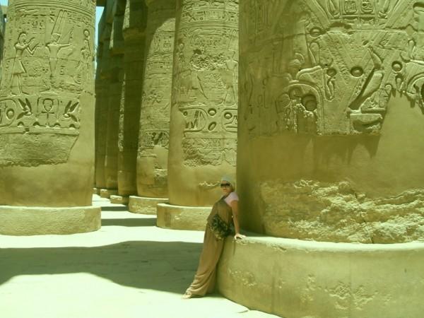 Карнакский храм, Гипостильный зал, Луксор