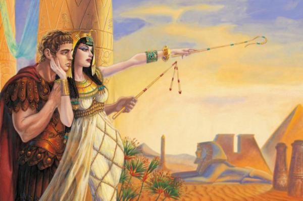 могила клеопатры и антония